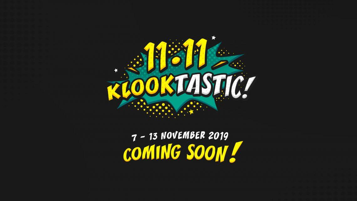 Klooktastic 11.11 Coming Soon!