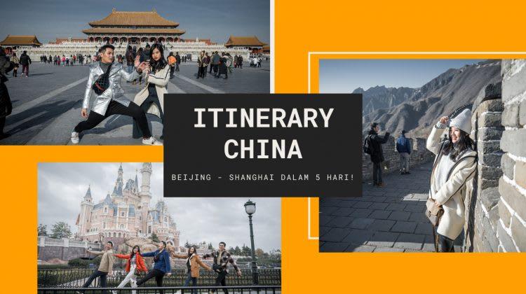 Itinerary China