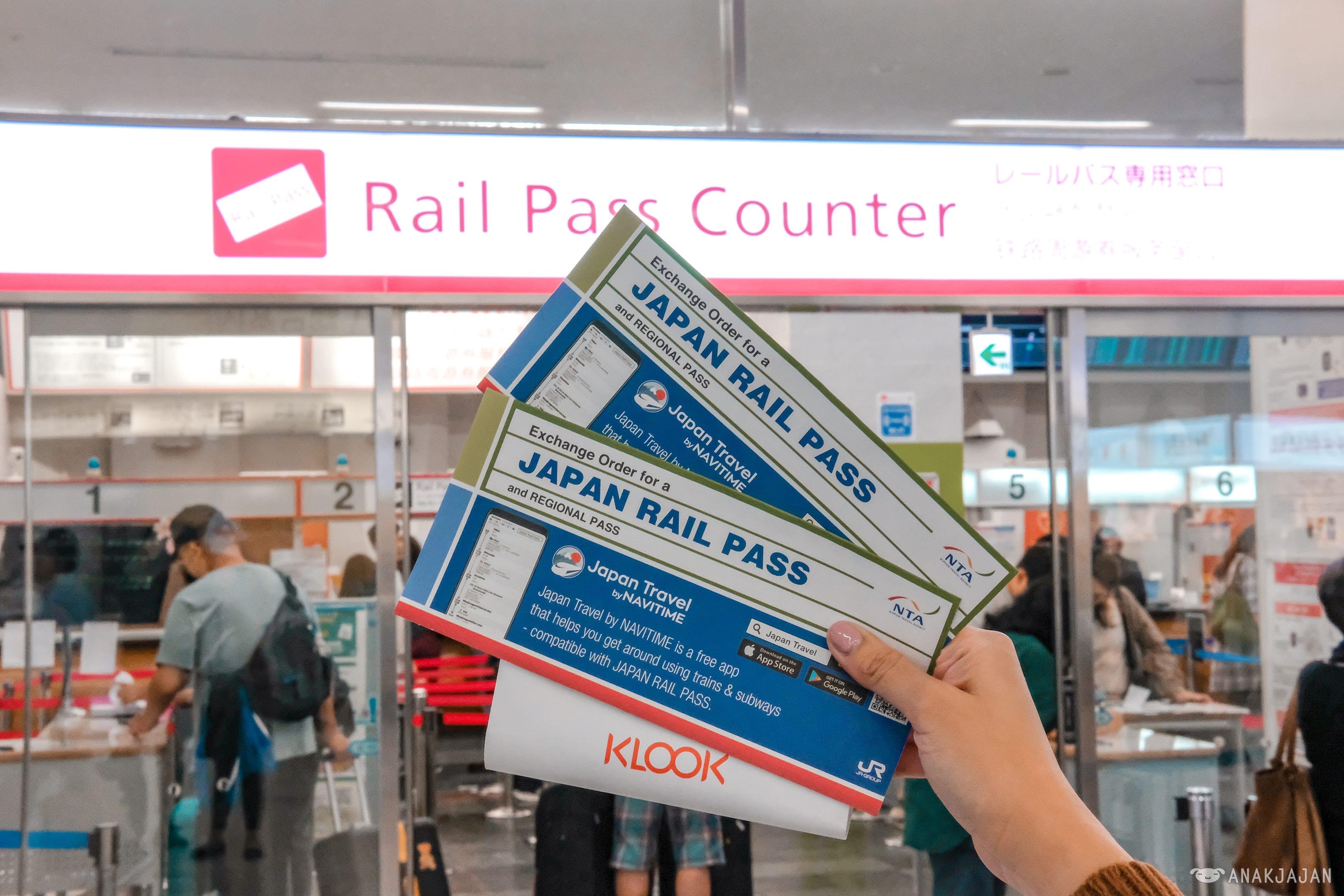Exchange Order JR Pass