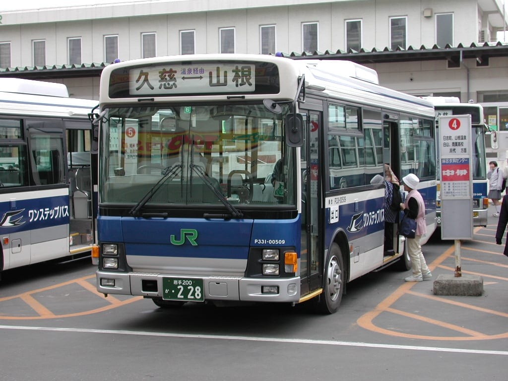 JR Pass Bus