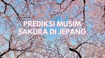Prediksi Sakura Jepang 2020