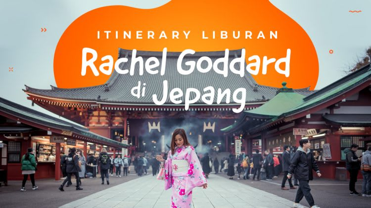 Itinerary Jepang Rachel Goddard