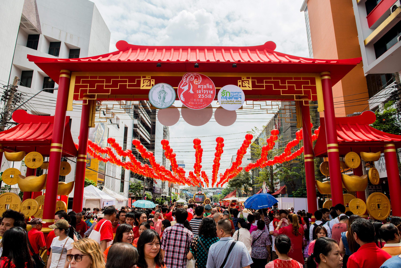 Bangkok Chinatown - Chinese New Year