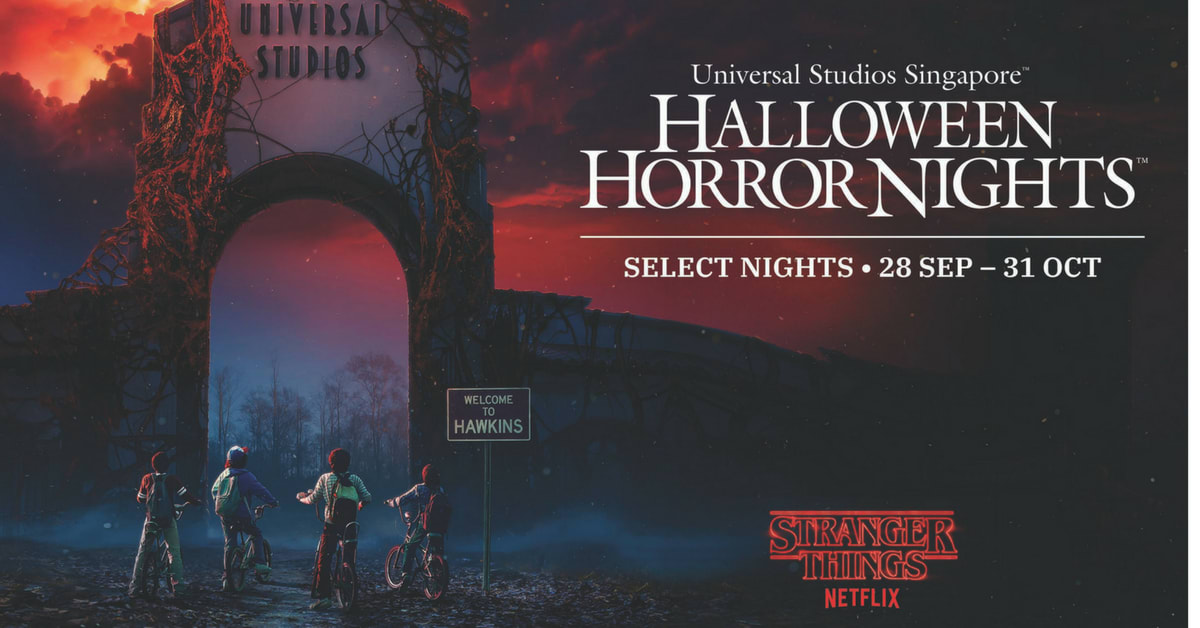 Stranger things halloween horror nights 2018