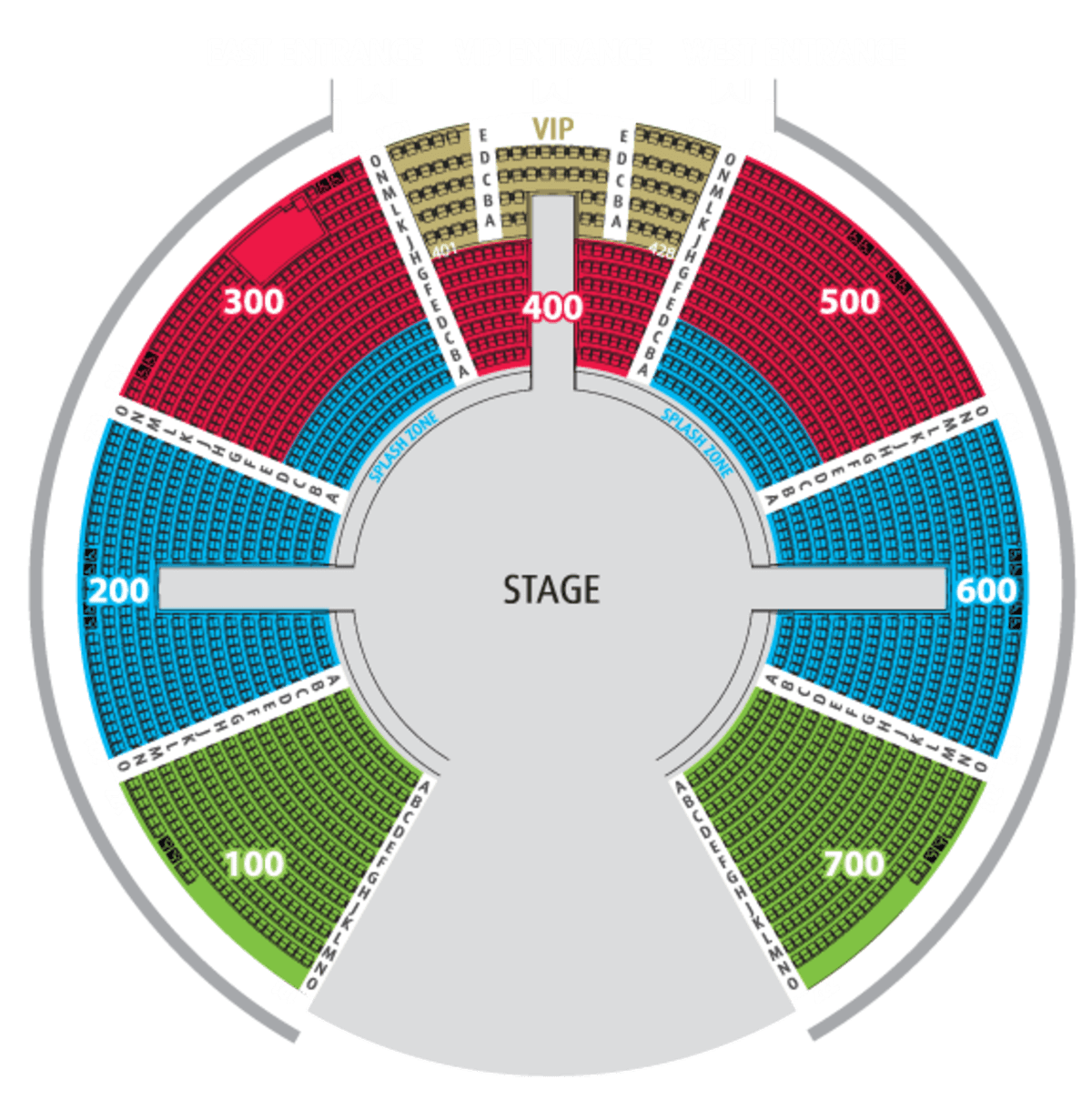 shows and performances in macau, house of dancing water seating area, house of dancing water seating chart