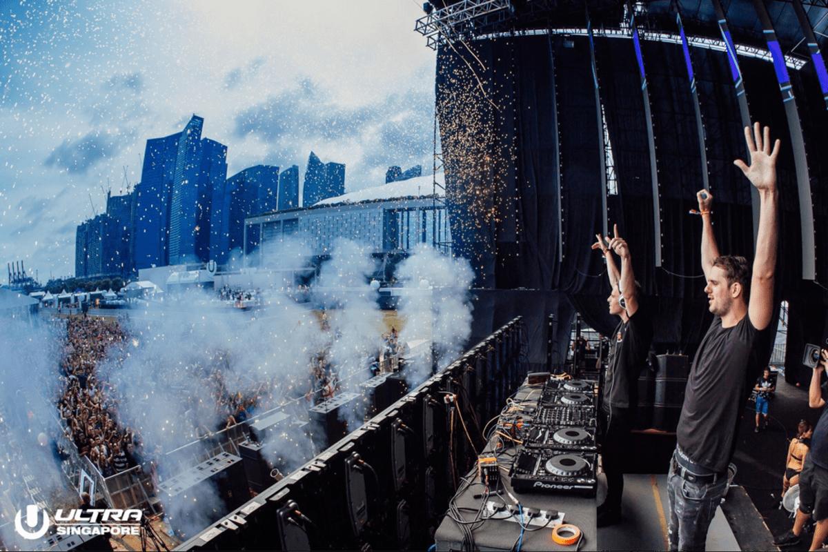 DJs at ULTRA Singapore 2017