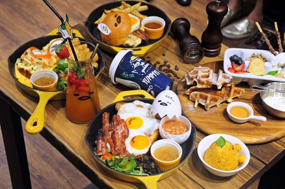 Gudetama Cafe