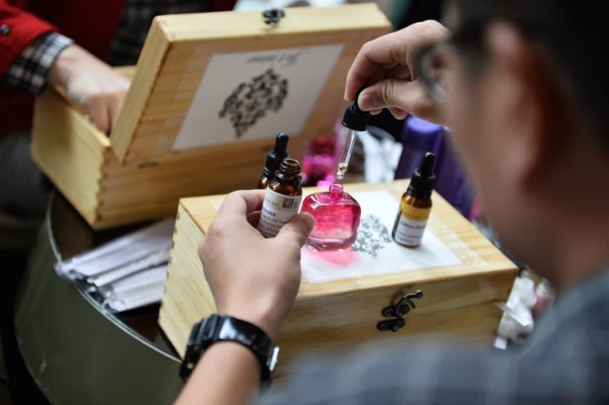 Jetaime Perfume Making Workshop