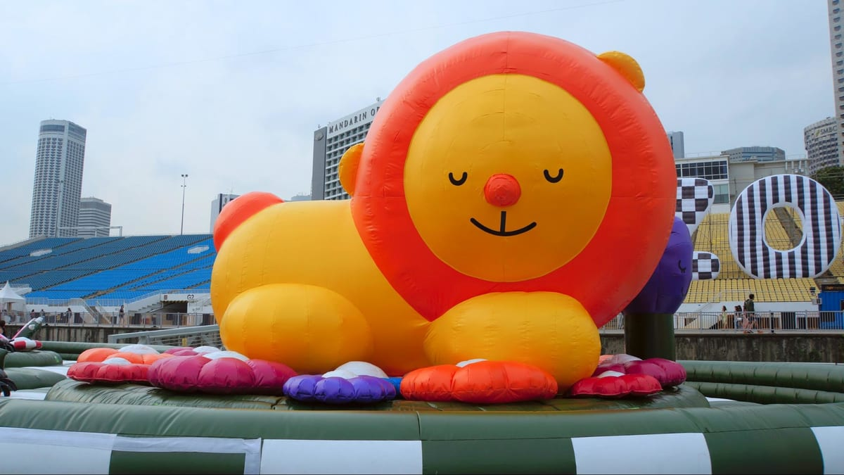 lion inflatable