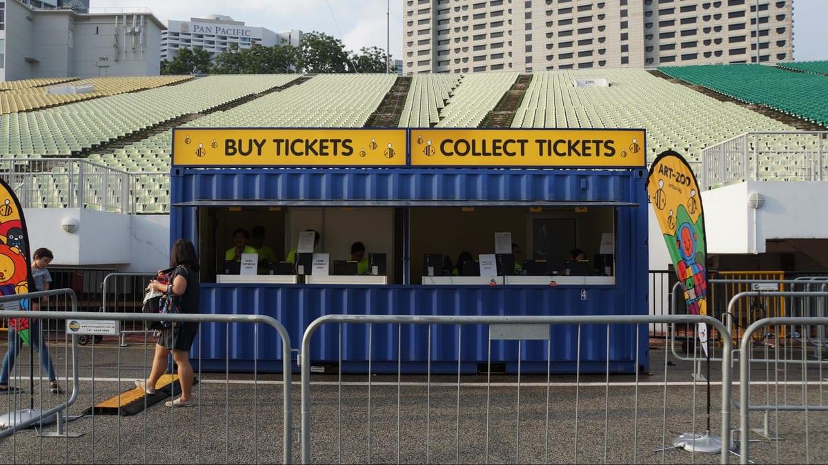 ticket vendor