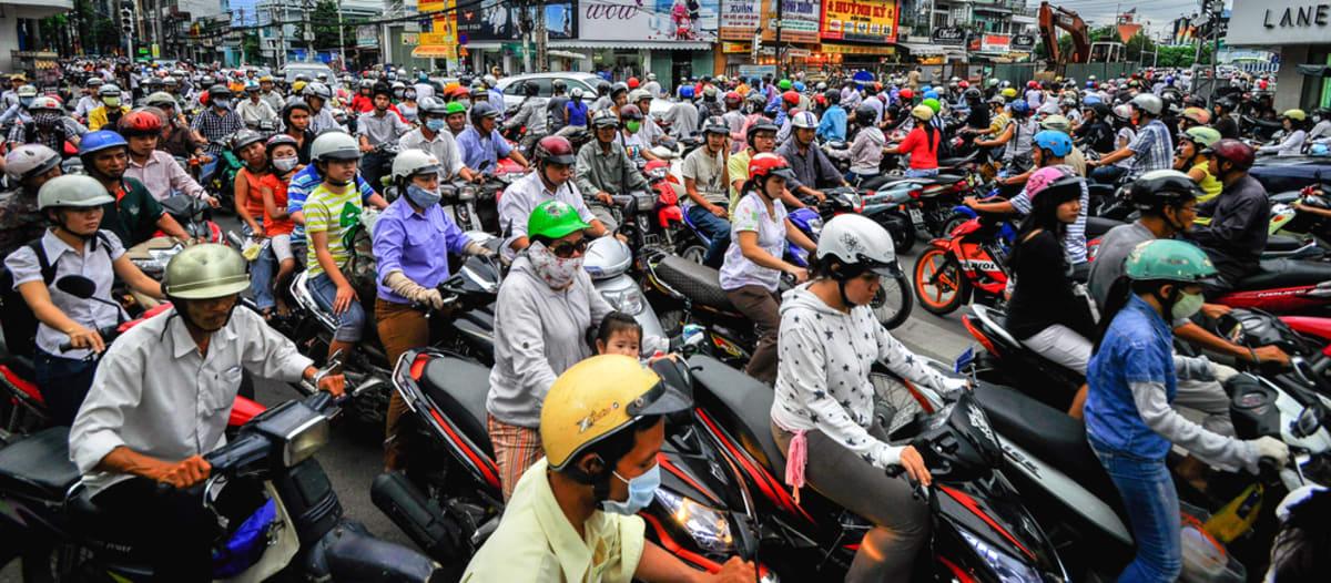 Scootering in Vietnam