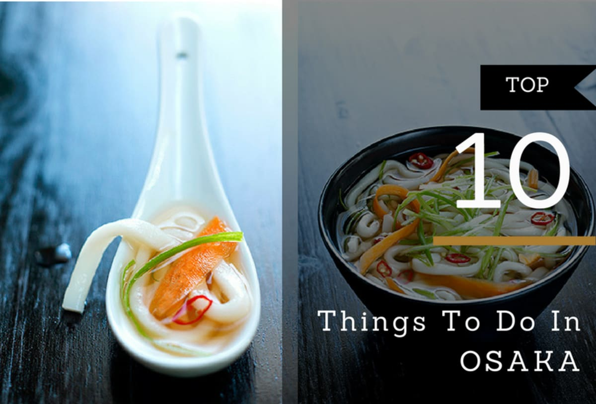 things to do in Osaka
