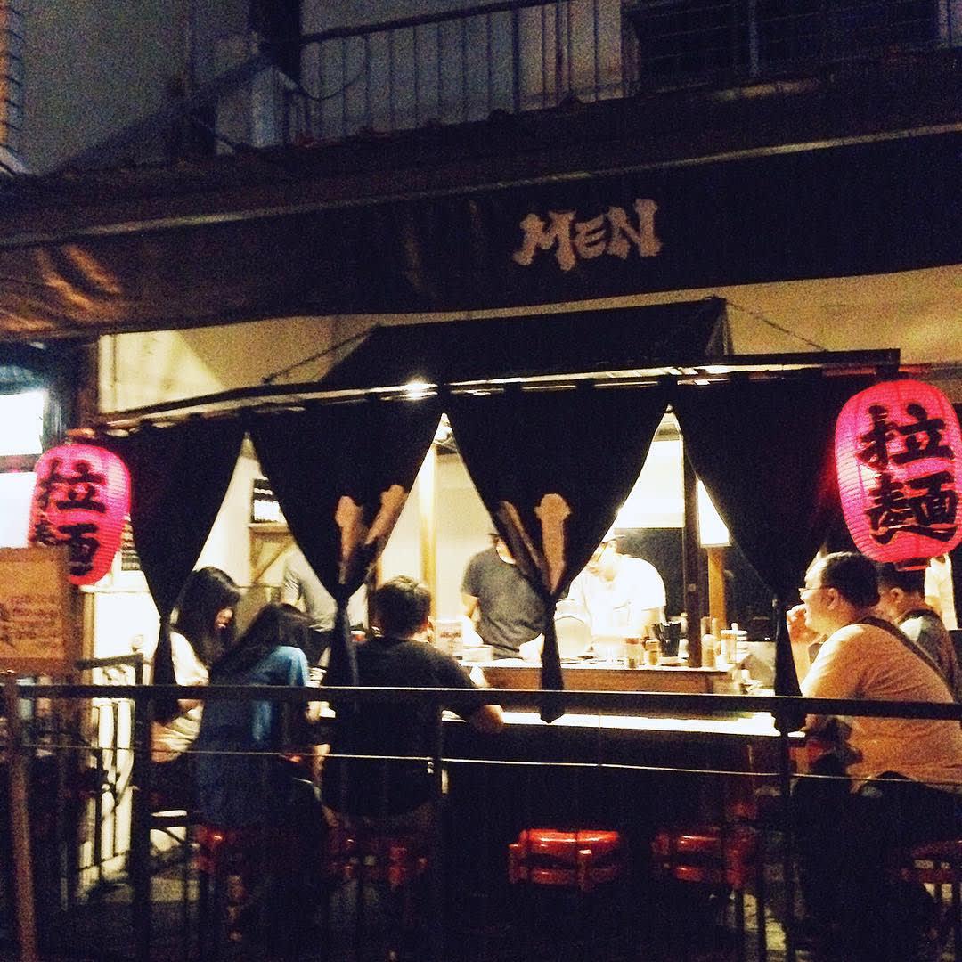 「MEN拉麵」是台中深夜限定的美食。(圖片來源/Instagram-sandy850415)