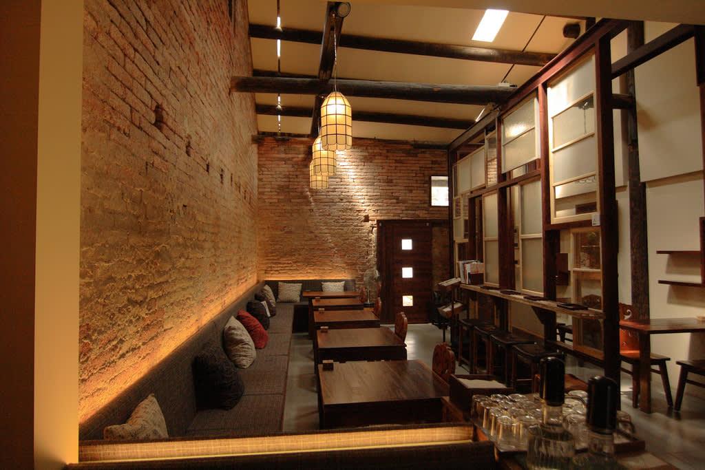 內部仍保留老屋的原始建築結構。(圖片來源/正興咖啡館FB粉絲團)