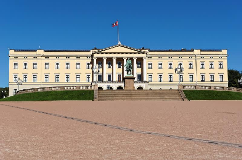 奧斯陸王宮Det Kongelige Slott(照片來源:Pixabay)