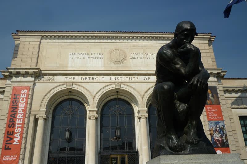 底特律美術館Detroit Institute of Arts(照片來源:Quick fix@Flickr)https://goo.gl/BwdJCj