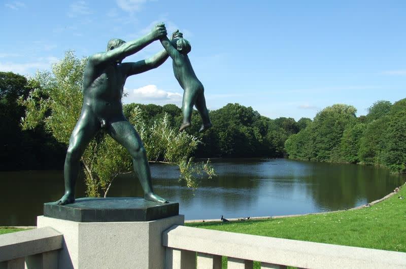 弗羅格納公園Frognerparken(照片來源:Pixabay)