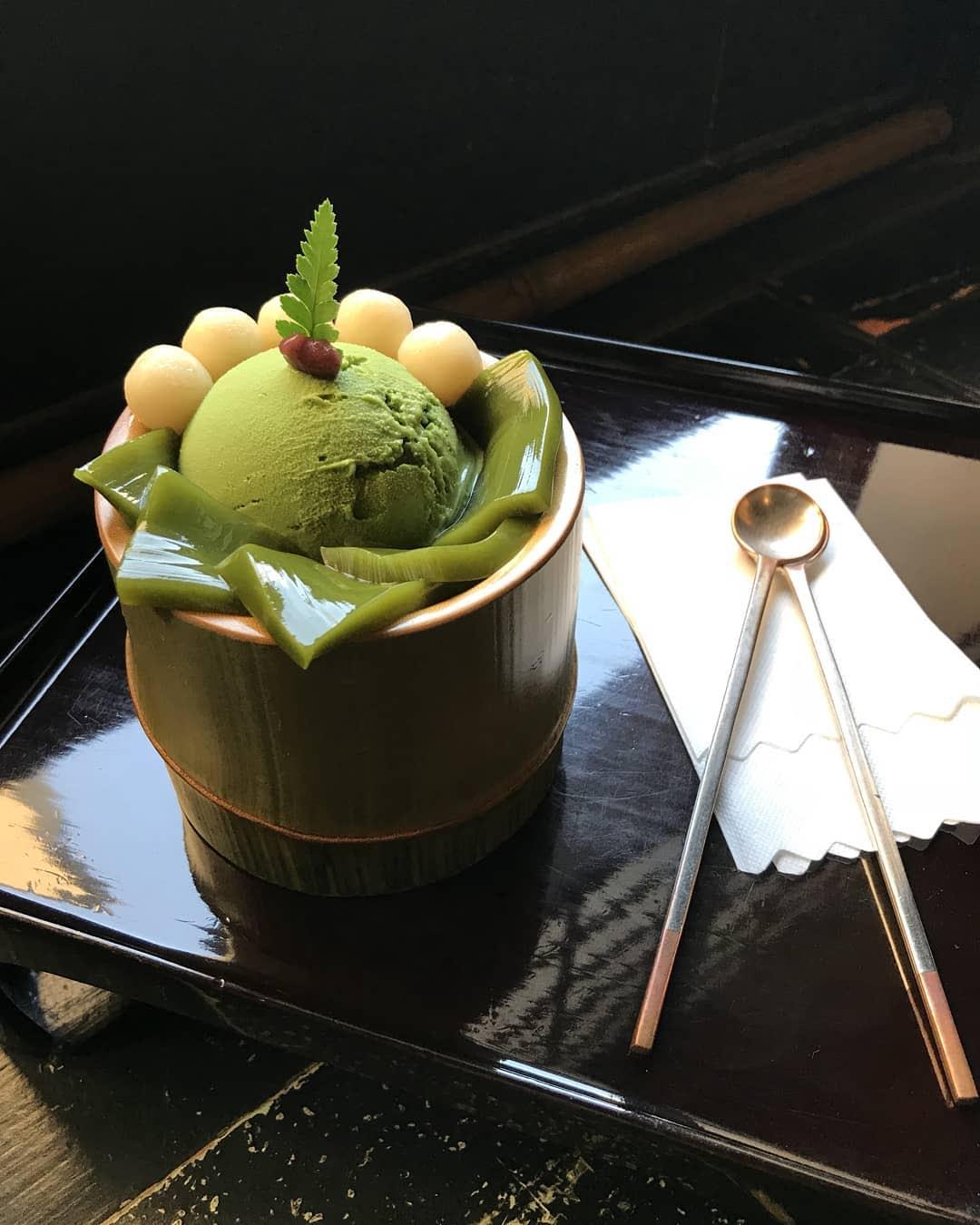 抹茶宇治金時。(圖片來源/Instagram-yeh_weiweiwei)