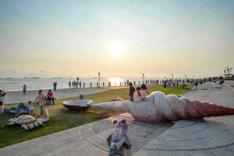 旗津風車公園。(圖片來源/高雄旅遊網)