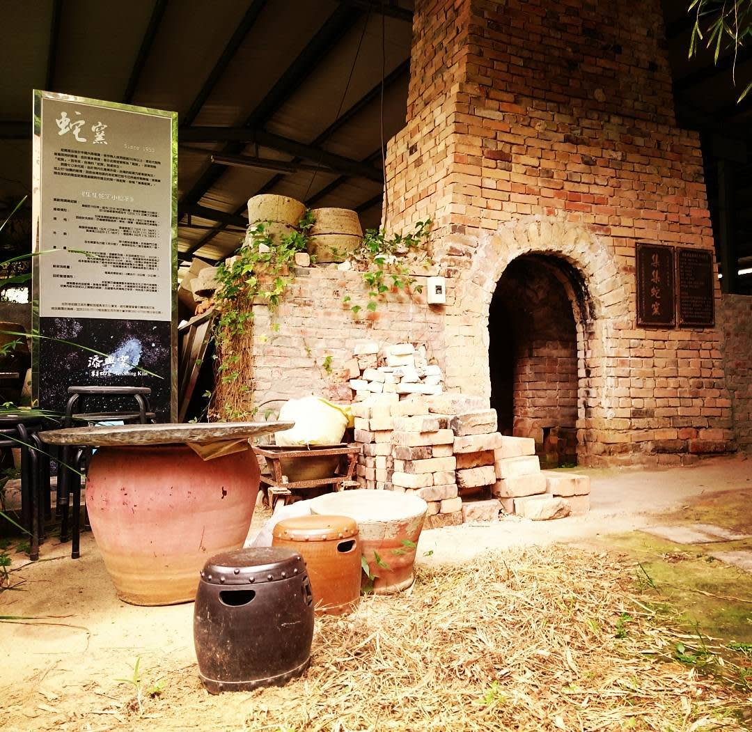 添興窯就是俗稱的集集蛇窯。(圖片來源/Instagram-bingxianlin)