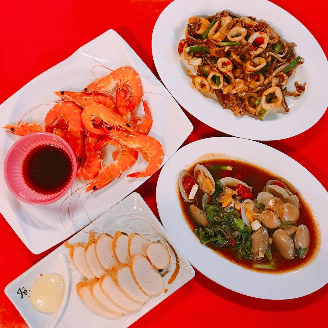 美味的海鮮料理。(圖片來源/Instagram-farrah_ig)