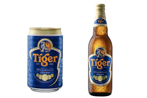 亞洲啤酒大全 東 南 亞 盛 行 的 新 加 坡 虎 牌 啤 酒