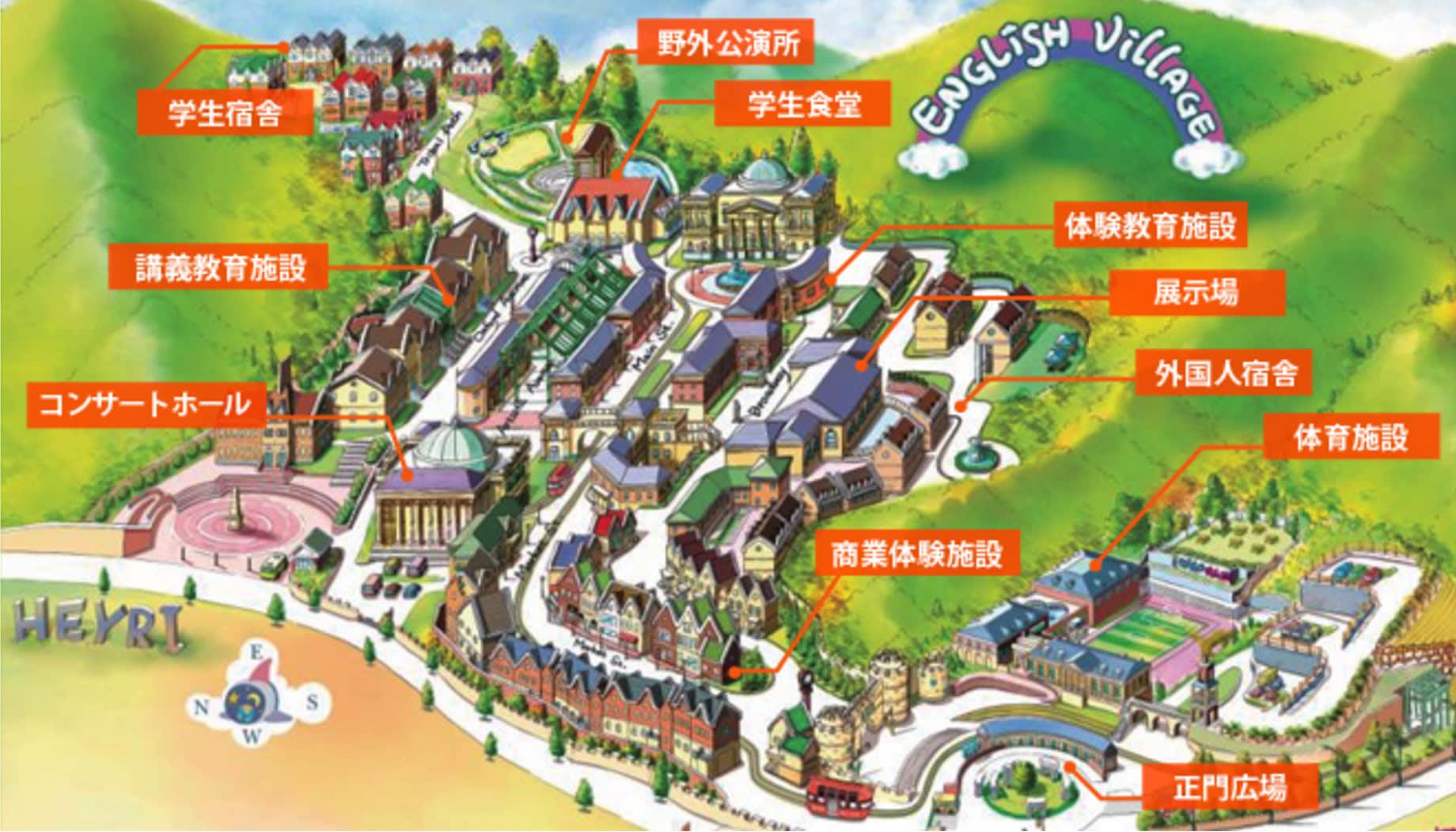 京 畿 坡 州 英 語 村 地 圖