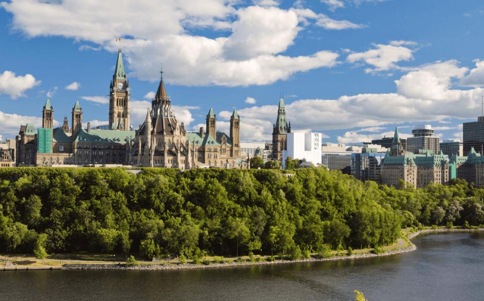 加 拿 大 首 都 渥 太 華( 圖 片 來 源 : goo.gl/xR4AsR )