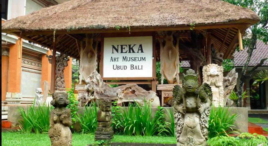 烏 布 也 是 世 界 上 著 名 的 藝 術 村