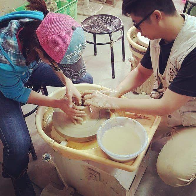 陶藝DIY手作體驗活動。(圖片來源/Instagram-puffymai)