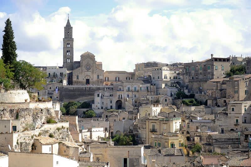 馬特拉洞窟民居Sassi di Matera(照片來源:Pixabay)