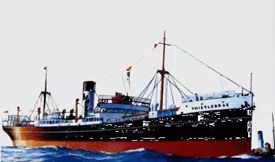 「 藍 薊 花 號 」 是 英 國 二 戰 時 期 的 一 艘 軍 火 船。