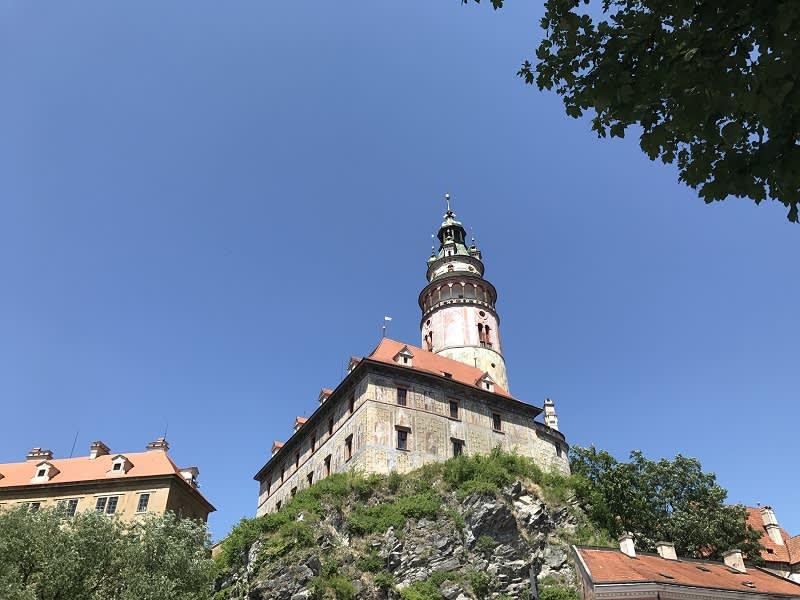 庫倫洛夫必參觀景點-城堡及彩繪塔