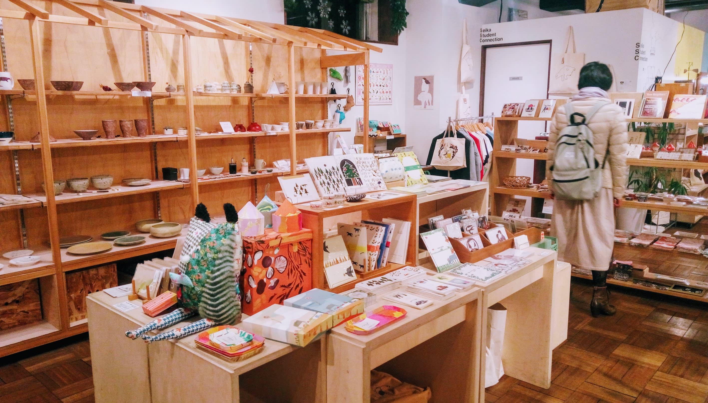 在這家店逛了好久,想買的東西好多! Photo by:Safu