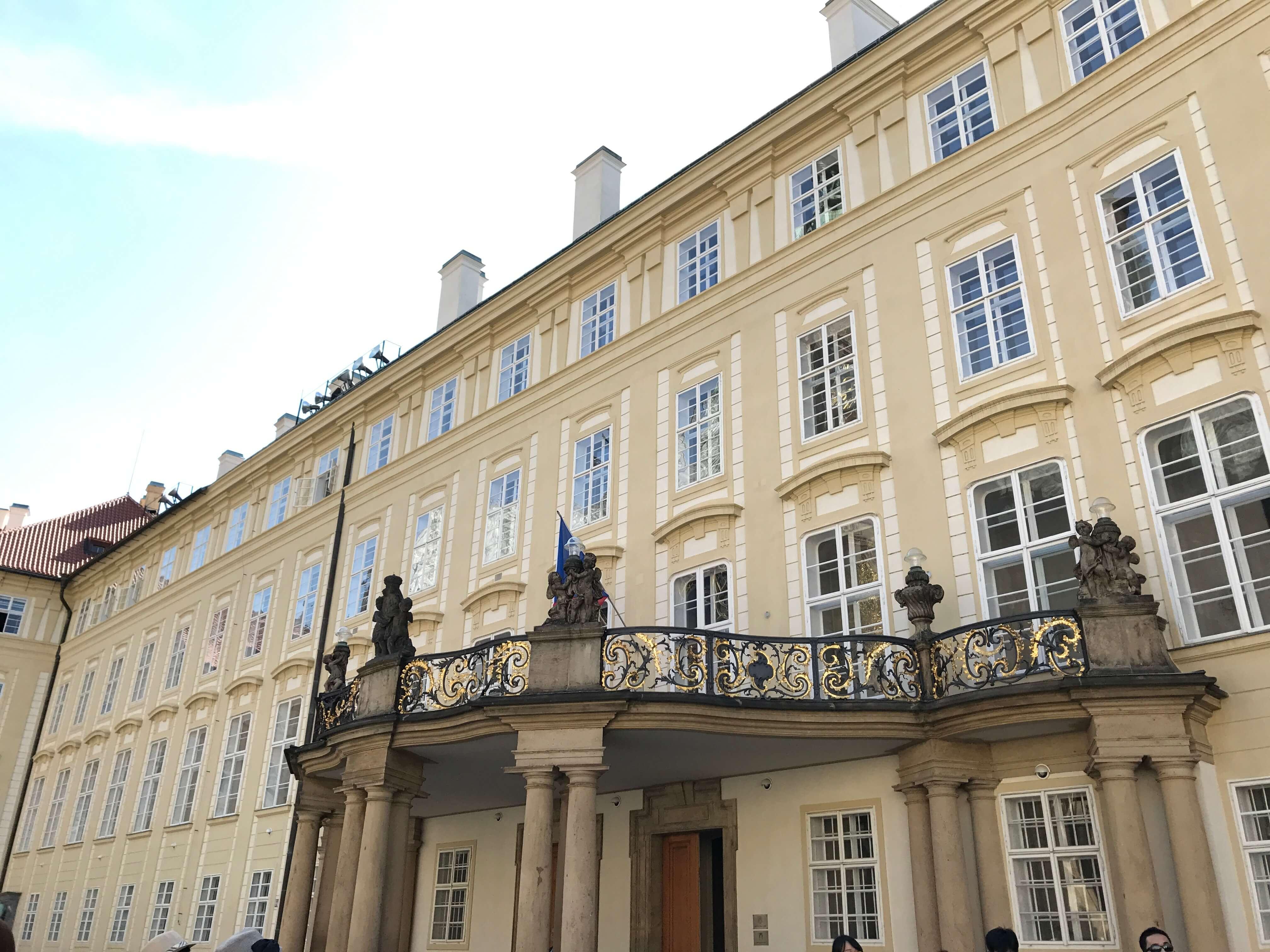 新皇宮是捷克目前的總統府。Photographer / Penny