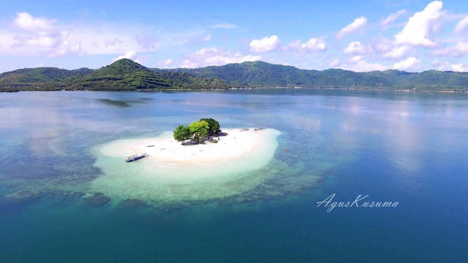 Gili Kedis, 也 稱 作 無 人 島