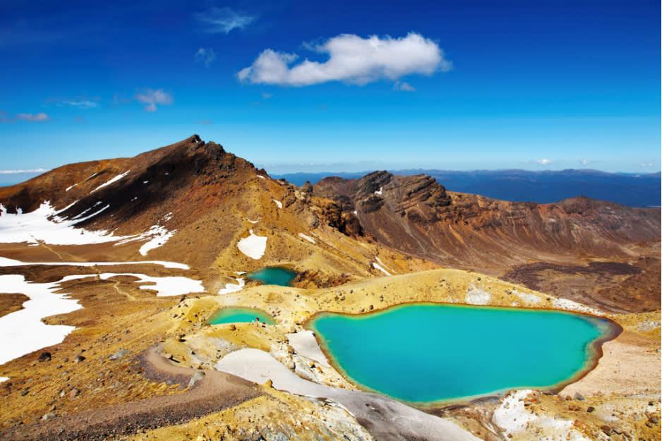 著 名 的 湯 加 里 羅 國 家 公 園 ,被 選 為 世 界 遺 產 地。
