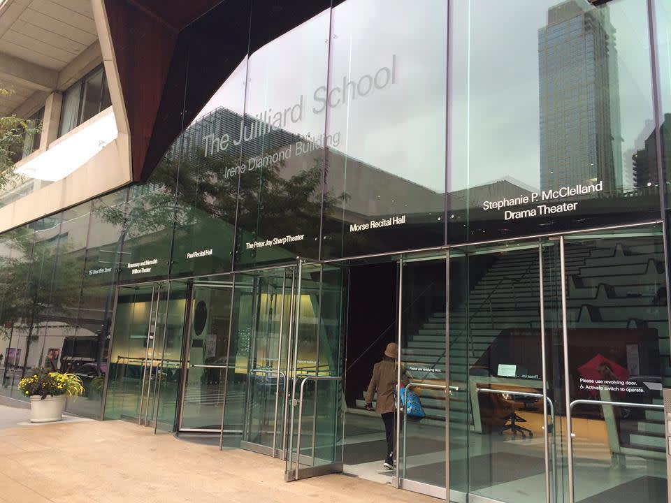 Juilliard School 大 門 入 口