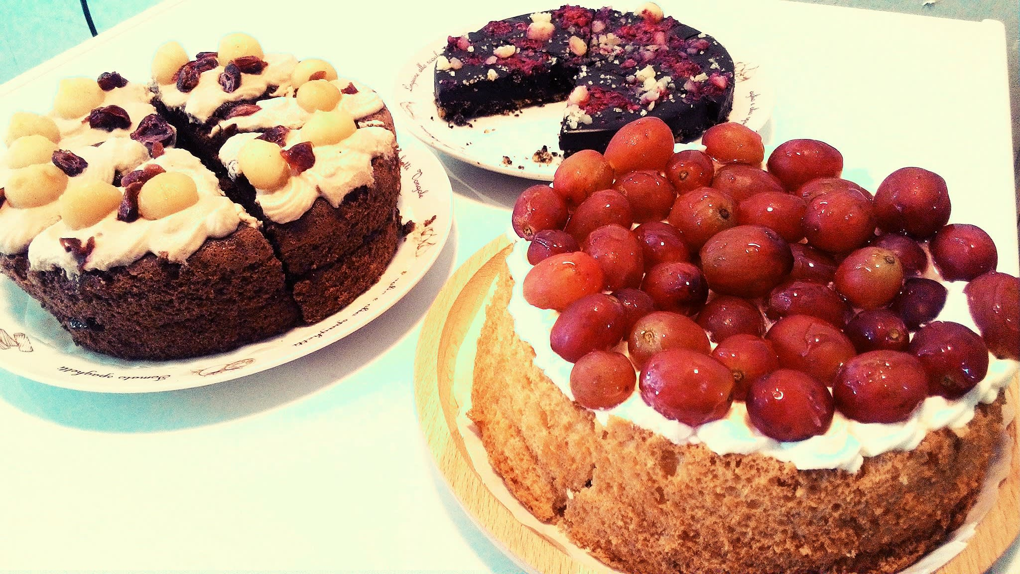 每 日 手 工 蛋 糕 。PHOTO | SideWalk Espressobar