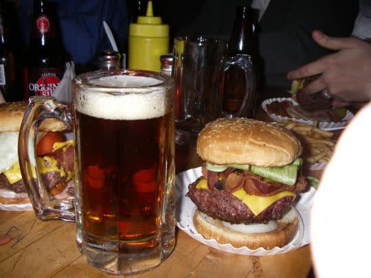 Corner Bistro漢堡 圖片來源:官網 http://cornerbistrony.com/