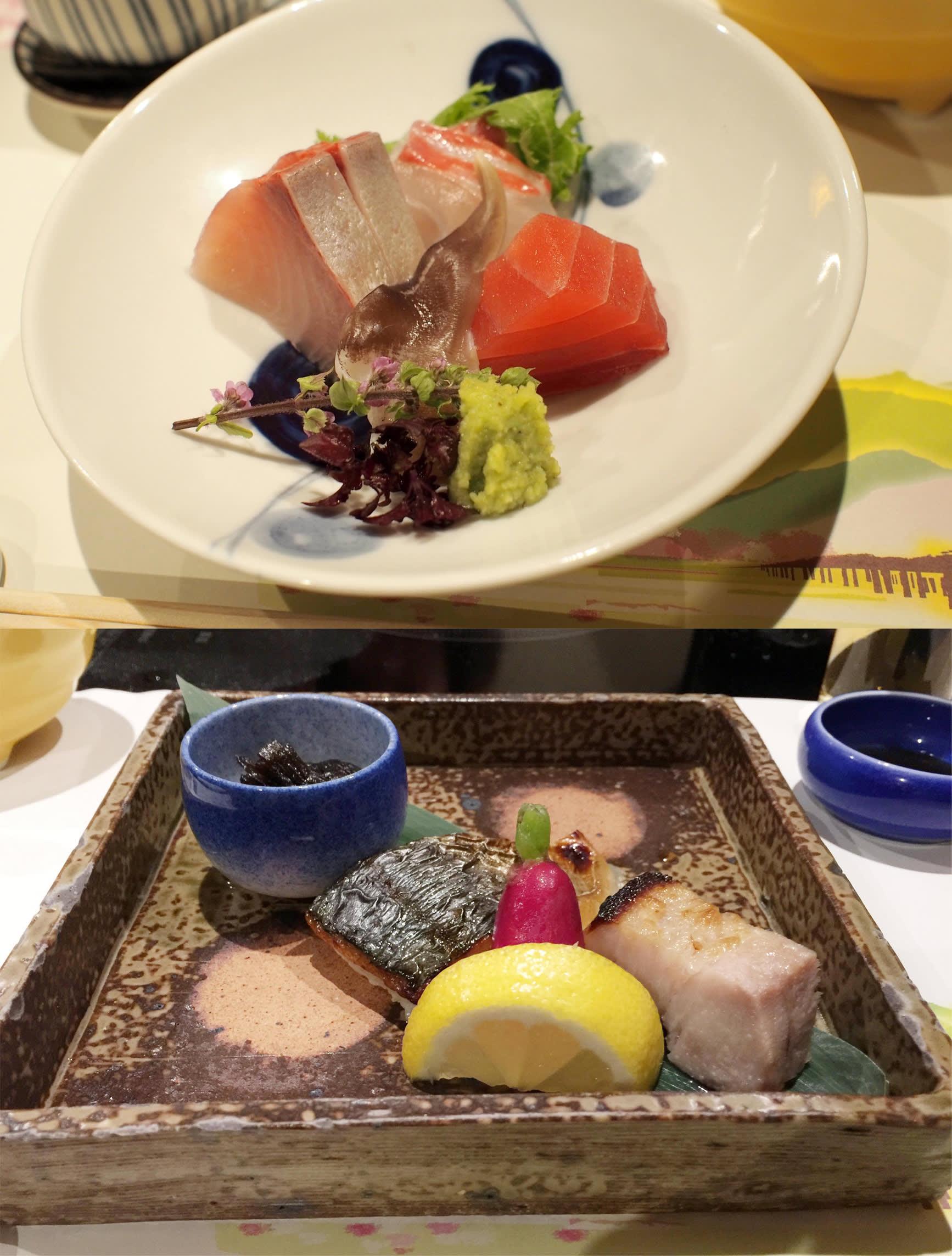 一泊二食包含的會席料理 (Photographer/ Ran)