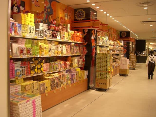 不用去上野,就能逛到老牌零食店。(圖片來源:https://goo.gl/JKVRDJ)
