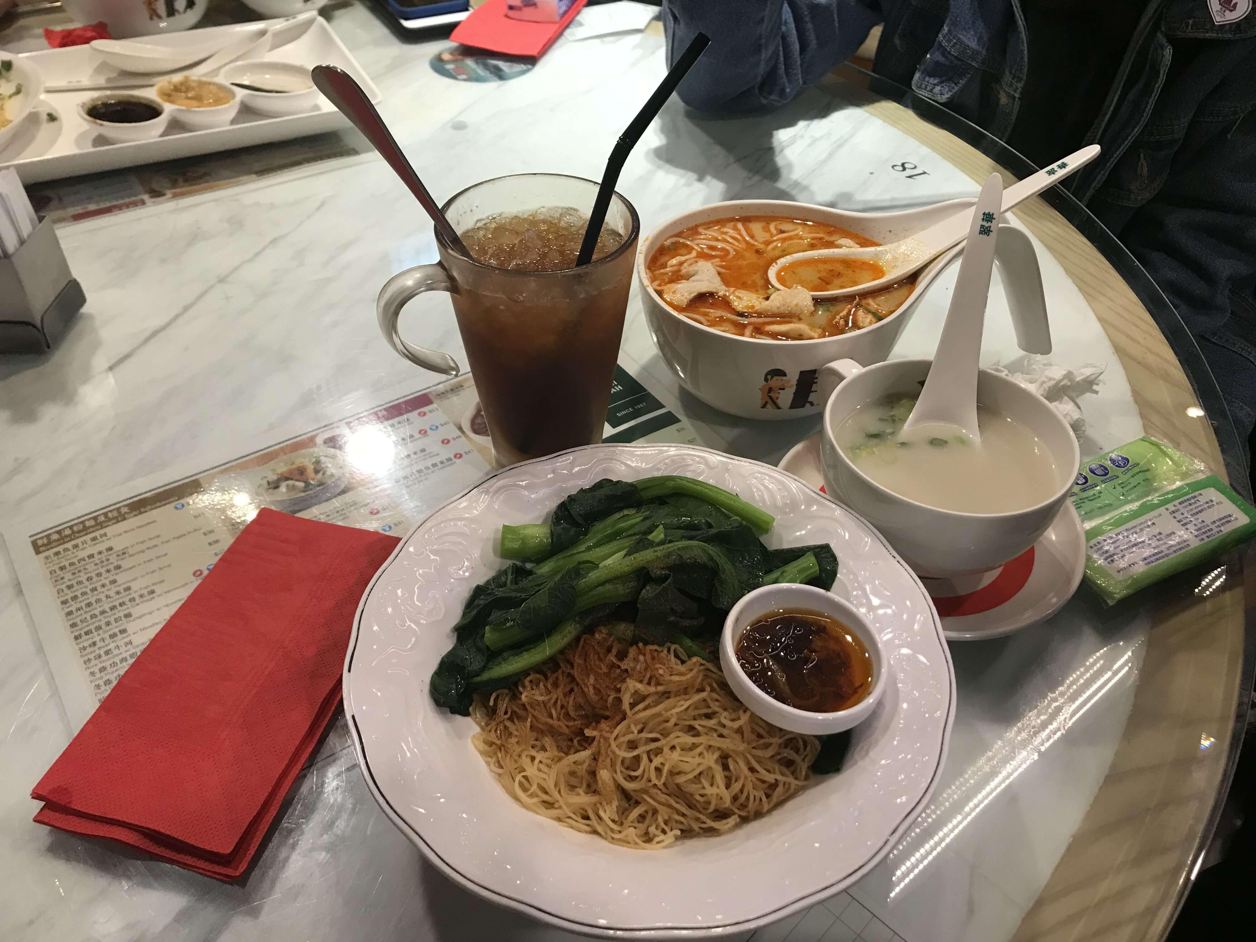 翠華餐廳菜色非常多樣化!Photographer / Penny