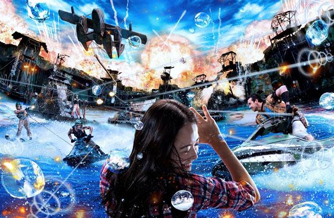 「水世界」,高達1億人次體驗的表演秀將改造後登場。