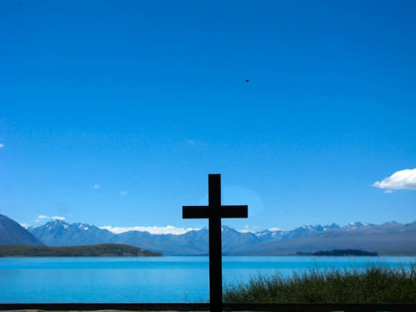 Tekapo 湖 。