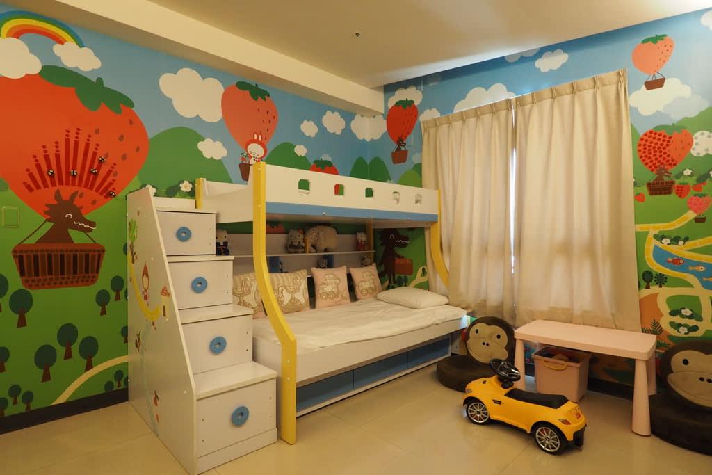親子設計套房。(圖片來源/宮賞藝術大飯店官網)