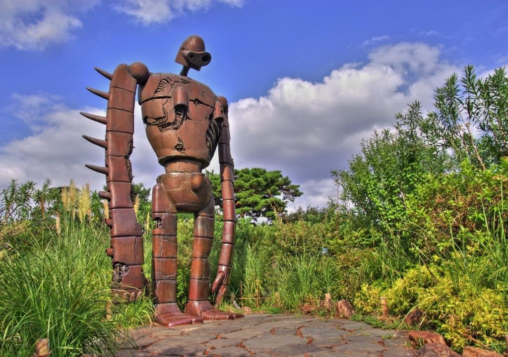 天空之城中的機器人角色/ Photo:Naverまとめ