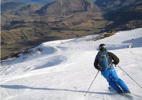 要 來 到 紐 西 蘭 滑 雪 記 得 是 要 在 台 灣 的 夏 天 去 唷