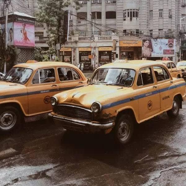 印 度 計 程 車。