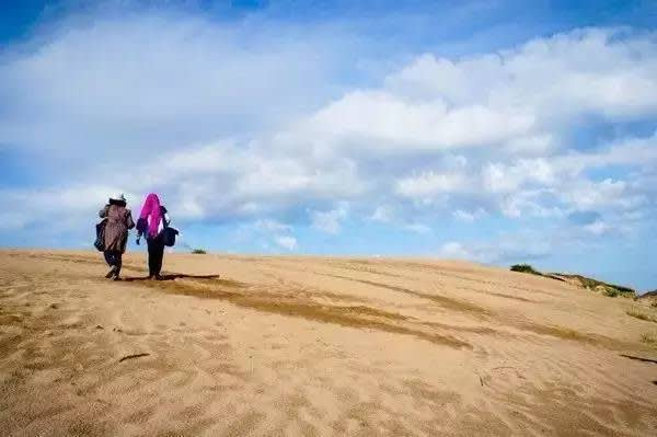 漫 步 在 沙 漠 之 中 , 找 尋 對 的 方 向